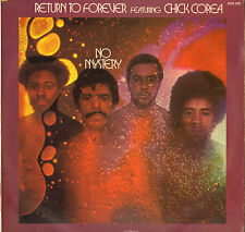"""RETURN TO FOREVER / CHICK COREA """"NO MYSTERY"""" JAZZ LP  POLYDOR 2310 378"""