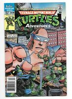 Teenage Mutant Ninja Turtles Adventures #3 - Newsstand Archie Comics 1988 TMNT