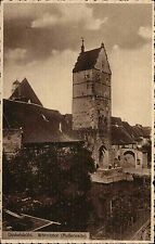 Dinkelsbühl Bayern Mittelfranken AK 1913 Wörnitztor Staufer Stadttor Tor Turm