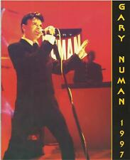 GARY NUMAN yearbook UK 1997 fanclub merchandise 20 page