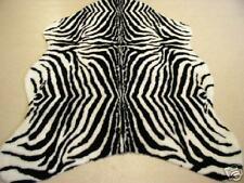 Fühlen wie in Sahara Afrika Zebra-kunstfell Teppich 220 x 150 cm Schwarz Weiß