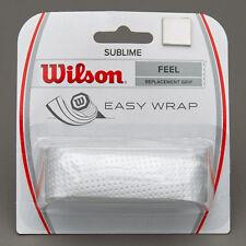 Wilson Sublime Replacement Racket Grip White  Tennis  Squash  Badminton