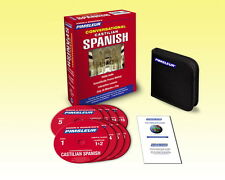 Pimsleur  CASTILIAN SPANISH Language 8 CD (16 Lessons) - NEW