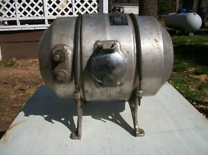 Vintage 1960's EElco 2 Gallon Rat Rod Gasser Man Cave Fuel Tank Barn Find