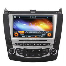 In-Dash Car DVD Player GPS Navi Headunit Radio for Honda Accord 7th 2003-2007