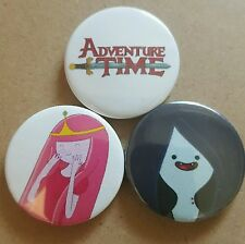 Adventure Time Pin Back Badge Set