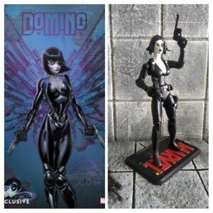 "3.75"" Domino custom figure xmen x men Marvel comics deadpool"