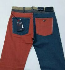 Armani Jeans J45 Mens Jeans Multicolour Regular Fit Stretch W31 L34 New RRP£185