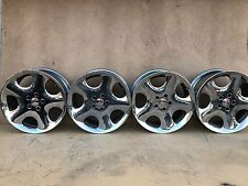"RARE SET OF 4 BMW ANTERA 123 19"" CHROME WHEELS RIMS SET OF 4"
