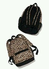 Victoria's Secret PINK! Leopard Print Classic Backpack Full Size Book Bag