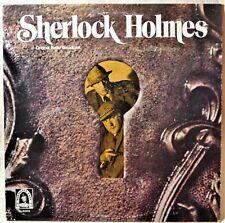Sherlock Holmes Original Radio Broadcast LP NM Vinyl Mystery Whodunnit British