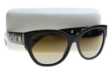 New Versace Sunglasses Women Cat Eye VE 4314 Black GB1/T5 VE4314 56mm