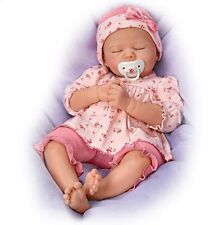 SIMPLY PRECIOUS! Baby Girl! 18 Inch Silicone Life Like Collectors Pacifier Doll