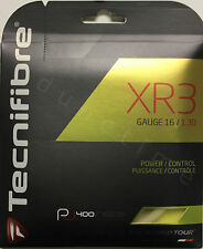 3-Pack Tecnifibre Xr3 16g 1.30mm Tennis Multifilament String 40ft Made In France