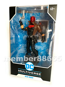 Brand New McFarlane DC Multiverse Jason Todd / Red Hood Target Exclusive New 52