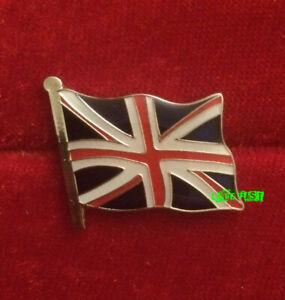 BRITISH FLAG UNION JACK LAPEL PIN british biker cafe racer loyalist patriotic