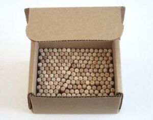"""Wood Dowel Pins 1/4"""" x 1-1/4"""" Fluted - 200 Pieces"""