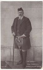 HM King Edward VII in Kilt & Sporran PPC, Hereford 1907 PMK From The Star Series