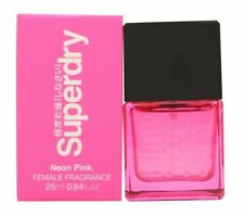 SUPERDRY NEON PINK EAU DE COLOGNE EDC 25ML SPRAY - WOMEN'S FOR HER. NEW