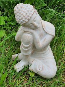 Buddha Head on Knee Latex Mould to create this Mindful Ornament Home & Garden