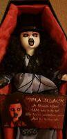 Living Dead Dolls Tina Black series 10 VERY RARE goth Mezco