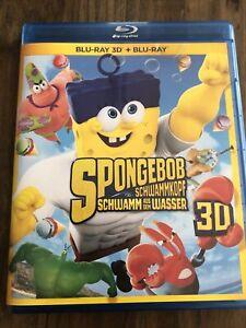 SpongeBob Schwammkopf - Schwamm aus dem Wasser 3D + 2D # BLU-RAY