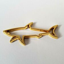 Great White Shark Badge for VW Gold Metal Emblem Beetle Eos Fox UP! Jetta Bora