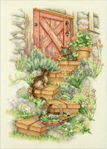 D70-35362 - Dimensions Counted X Stitch - Garden Steps