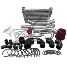 CX 24x11x3 Intercooler Piping Kit BOV Rad Hard Pipe for RX8 RX-8 Turbo RX7 13B