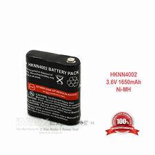 3.6V 1650mAh Ni-Mh Battery for MOTOROLA Talkabout T4800 T5800 EM1000 MR350 MS350