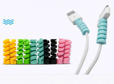 4PCS USB Cable Saver Protector for 8pin Lightning Cable USB Cable Random Color