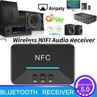 Wireless Bluetooth NFC Receiver 5.0 aptX LL RCA 3.5mm-Jack Aux Audio Adapter