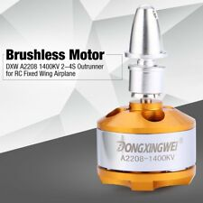 DXW A2208 1400KV 2-4S Outrunner Brushless Motor for RC Fixed Wing Airplane