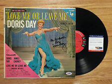 DORIS DAY signed LOVE ME OR LEAVE ME 1955 Record / Album PSA AA22674 For Michael
