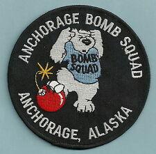 ANCHORAGE ALASKA POLICE BOMB SQUAD PATCH