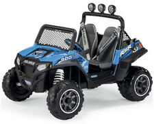 2 SEATER Peg Perego 12v Polaris Ranger RZR 900 ELECTRIC Ride On Jeep CAR TOY