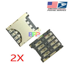 2Pcs SIM Card Reader Tray Slot Holder For Moto G4 XT1622 XT1625 / G4Plus XT1644