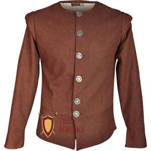 Tilly Cotton Jerkin Tunic cotton Medieval Renaissance Plane costume Sca Larp
