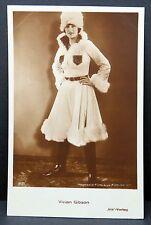 Vivian Gibson AK - Foto Autogramm-Karte - Photo Postcard (Lot F1489