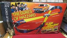 Vintage 1982 Ideal Dukes Of Hazzard Slam Shifters Raceway with Box