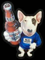 STICKER Bud Light Spuds MacKenzie Die Cut Vinyl STICKER Budweiser Beer