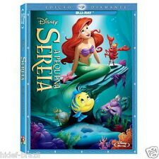 Blu-ray The Little Mermaid Trilogy [ English+French+Spanish+Portuguese ]
