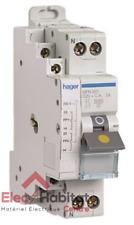 Disjoncteur bipolaire + fil pilote à vis 20A Hager MFN920