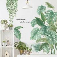 Tropical Leaves Green Plant Wall Stickers Decal Nursery Art Mural Decor Sal @#!
