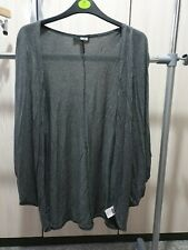 ASOS Grey Sleeveless Cardigan Size 10 - Summer Oversized Batwing