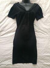 """(#2106) COMPTOIR DES COTONNIERS Lovely Noir Shift Robe Taille 34"""" """"PETITS ou 8 UK"""