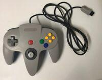 Nintendo 64 OEM Half Gray And Blue Controller N64 Nus-005 Rare