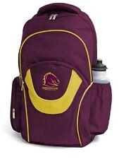 NRL Backpack - Brisbane Broncos - Back Pack - Bag - BNWT - Officially Licensed