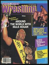 Sports Review Wrestling Magazine - Dec 1985 - Hulk Hogan