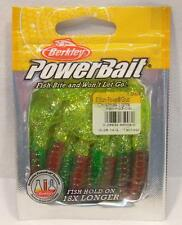 "Berkley Powerbait 3"" Christmas Lights Power Grubs Soft Plastic 15ct Fishing Bait"